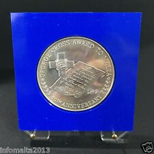 1992 Malta 50th Anniviversary George Cross Award Silver Proof Coin Box #0562
