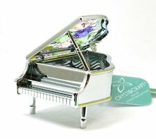 CRYSTOCRAFT Freestanding Swarovski Crystal Piano Ornamental