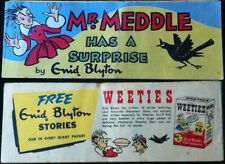 WEETIES AUSTRALIA CEREAL GIVEAWAY PROMO ENID BLYTON MR MEDDLE HAS A SURPRISE F+