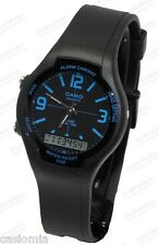 Casio AW90H-2B Mens Classic Digital Analog Casual Watch Dual Time Alarm Blue