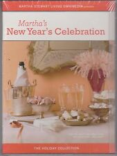 MARTHA STEWART'S NEW YEAR'S CELEBRATION DVD Holiday Party Ideas Recipes Eve NEW