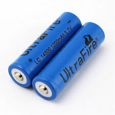 2x 14500 1200mAh 3.7V Rechargeable Li-ion Battery For Remote Toys