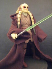 STAR WARS KIT FISTO JEDI ROBES FIGURE REVENGE/SITH
