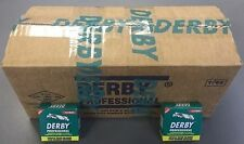 5000 Derby Professional Single Edge Razor Blades (50 Packs of 100 Blades)