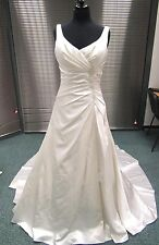 Nicki Flynn Collection Champagne Wedding Dress 12 Straps Diamante Detail (171J)