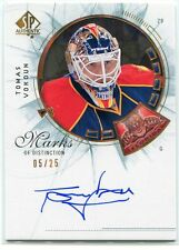 2009-10 SP Authentic Marks of Distinction VO Tomas Vokoun Auto 5/25