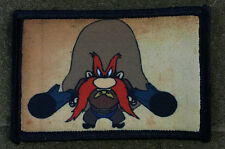 Yosemite Sam Morale patch Tactical Military Army Badge Hook Flag USA