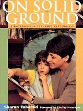 On Solid Ground by Sharon Taberski (2000, Paperback)
