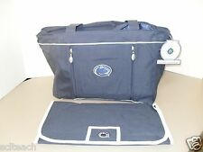 Brand New Penn St. Nittany Lions Blue Baby & Toddler Diaper Bag w/ Changing Pad
