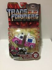 Hasbro Transformers Movie ROTF Deluxe AUTOBOT SKIDS & MUDFLAP MOSC Sealed New