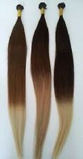"""I-Tip Pre-Bond Extensions Finest European Remy Hair  18"""" Ombre Choice Of Color"""