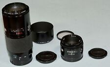 Minolta 70-210mm f4 and Minolta 50mm f1.7 af lenses Fit Sony DSLR  A mount