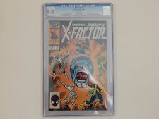 X-Factor #6 Marvel 1986 CGC 9.0 1st Apperance Of Apocalypse Key Issue WhitePages