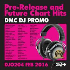 DMC DJ Only 204 Promo Chart Music Disc for DJ's - Double CD