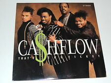 "CA$HFLOW that's the ticket 12"" RECORD CASHFLOW CASH FLOW I NEED YOUR LOVE 1988"