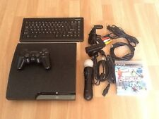 Sony PlayStation 3 SLIM CECH-2104A 120GB + PS Move + teclado + HDMI + 1mando+F/A