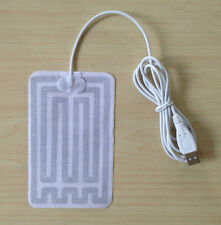 5 v USB heating cloth USB Feer piece  8 * 13 cm