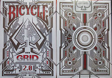 Bicycle Grid 2.0 Red Edition Playing Cards - Limited Edition - SEALED