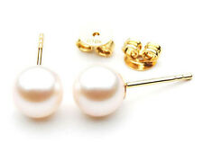 $1,199 Pacific Pearls® AAA 8.5-9mm White Japanese Akoya Saltwater Pearl Earrings