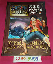 ARTBOOK VISUAL BOOK ONE PIECE PIRATE WARRIORS COLLECTOR PARFAIT ETAT 100% JAP