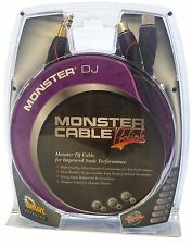 Monster Cable ProLink M DJ-CFX-2M Pair of DJ Cables - 1/4 inch to XLR - 6 Ft