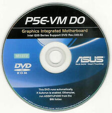 ASUS P5E-VM DO Motherboard Drivers Installation Disk M1272