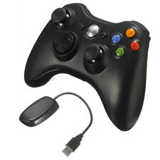New Black Wireless Game Remote Controller for Microsoft Xbox 360 Console PC