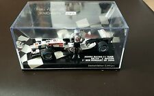 Minichamps 1:43 Jenson Button Honda RA106 1st win Hungary 2006 standing figure