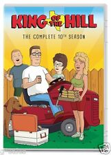 King of the Hill Complete 10th Tenth Season 10 Ten ~ BRAND NEW 2-DISC DVD SET