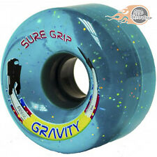 Sure-Grip Gravity Sparkle Quad Roller Skate Wheels - Pk 8