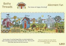 BOTHY THREADS ALLOTMENT FUN GARDEN COUNTED CROSS STITCH KIT - NEW