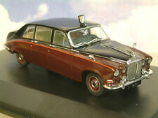 OXFORD DIECAST 1/43 H.M. QUEEN MOTHER DAIMLER DS420 LIMOUSINE BLACK/CLARET DS004
