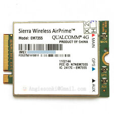 Sierra Wireless AirPrime EM7355 Gobi 5000 4G LTE Module NGFF WWAN Card For AT&T
