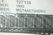 MC74ACT20DR2 MOTOROLA NAND 2-Element 4-IN CMOS 14-Pin SOIC Qty-100