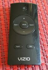 VIZIO  SOUNDBAR REMOTE CONTROL FOR VSB211Z, VSB207 SOUNDBARS.