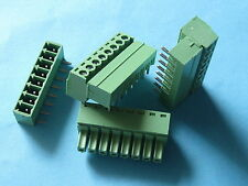 25 pcs Pitch 3.5mm Angle 9 way/pin Screw Terminal Block Connector Pluggable Type