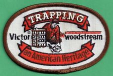 Pa Pennsylvania Game Fish Commission NEW Victor Woodstream Trapping Patch (A)