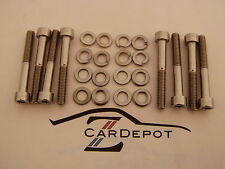 Datsun 240Z 260Z 280Z L16 L24 L28 Stainless Steel SS Valve Cover Bolts NEW 004
