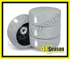 4 x WHEEL COVERS for 185/55R15, 185/60R15, 185/65R15 Car Spare Wheel Covers 15''