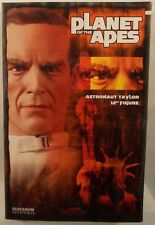 """Planet Of The Apes By Sideshow - 12"""" Astronaut Taylor Charlton Heston (MIB)"""