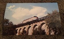 Postcard Unposted Train Locomotive Amtrak's Liberty Express 1980 Canton MA