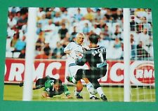 PHOTO UNFP FOOT 2000 OLYMPIQUE MARSEILLE OM RAVANELLI FOOTBALL 1999-2000 PANINI