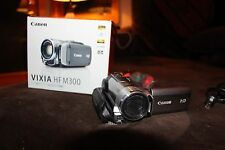Canon Vixia HF M300 Flash Media Camcorder-Excellent!