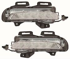 CHEVY CRUZE 2015 DAYTIME RUNNING LIGHTS FOG BUMPER LAMPS PAIR SET LEFT RIGHT