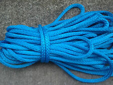 "85' of 1/2"" AmSteel Blue Dyneema SK-78 Samson Rope 30,600lb Minimum Tensile"