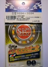 ZPI bousei sic ball bearings 3x10x4/3x10x4