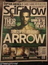 SciFi Now #85 Thor Dark World Tom Hiddleston Birds Nosferatu Waking Dead more