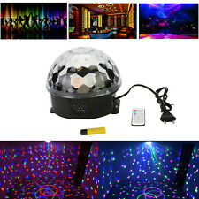 DJ Club Disco KTV Party Bar RGB Crystal LED Ball Projector Stage Effect Light