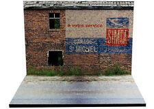 """Diorama présentoir Publicité murale """"Simca"""" - 1/43ème- #MR43B018"""