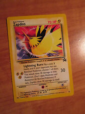 PL ZAPDOS Pokemon PROMO Card #23 Rare Black Star Set Legendary Lightning Bird